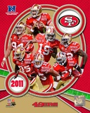 San Francisco 49ers 2011 NFC West Division Champions Composite Photo