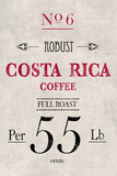 Costa Rican Coffee Prints