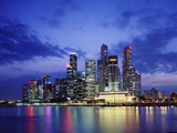 Singapore Skyline Photographic Print by Richard Klune