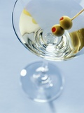 Martini with Olives Photographic Print by Steve Lupton