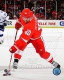 Henrik Zetterberg 2011-12 Action Photographie