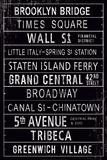 Destinations III Plakater af Maria Mendez