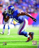 Justin Tuck 2011 Action Photo