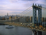 Brooklyn Bridge and Manhattan Photographic Print by José Fuste Raga