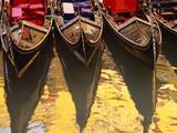 Gondolas, Venice, Italy Photographic Print by Sergio Pitamitz