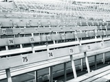 Empty stadium Photographic Print by Guntmar Fritz
