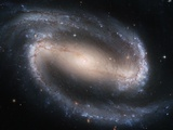 Barred Spiral Galaxy NGC 1300 Photographic Print