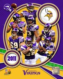 Minnesota Vikings 2011 Team Composite Photo