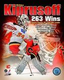 Miikka Kiprusoff Calgary Flames All-Time Wins Leader Composite Photo