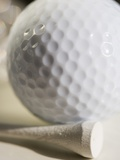 Golf Ball and Golf Tee Photographic Print by Tom Grill