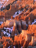 USA, Utah, Bryce Canyon with snow Photographic Print by Theo Allofs