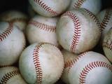 Baseballs Fotografiskt tryck av Jim Richardson