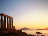 Ruin of the Poseidon temple in Attica (Greece) Photographic Print by José Fuste Raga