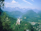 Neuschwanstein castle (Bavaria, Germany) Photographic Print by Eberhard Streichan