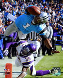 NFL Cam Newton 2011 Action Photo
