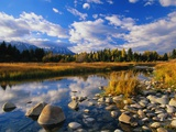 Snake River Photographic Print by Ron Watts