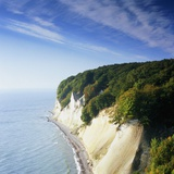 Rocky coastline in the Jasmund Nature Reserve, Ruegen, Mecklenburg-Vorpommern, Germany Photographic Print by Guenter Rossenbach