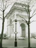 Arc de Triomphe and Place Charles de Gaulle in Paris Lmina fotogrfica por Ladislav Janicek