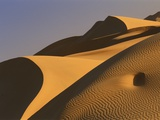 Sand dunes (Timimoun, Grand Erg, Gourara Valley, Sahara Desert, Algeria) Lmina fotogrfica por Frans Lemmens