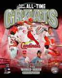 St. Louis Cardinals All Time Greats Composite Photographie