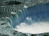 Water Rushing over Horseshoe Falls Photographic Print by Ron Watts