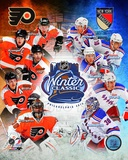 2012 NHL Winter Classic Composite - Flyers/Rangers Match Up Photo