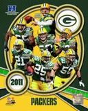 Green Bay Packers 2011 NFC North Division Champions Composite Fotografía