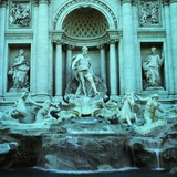 Italy, Rome, Trevi Fountain Photographic Print by JoSon 