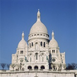 Sacre Coeur in Paris Photographic Print by M. Neugebauer