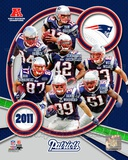 New England Patriots 2011 AFC East Division Champions Composite Photo