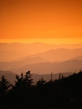 Great Smoky Mountains at Twilight Photographic Print by Cody Wood