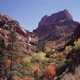 Kolob Canyon, Zion National Park, Utah, USA Photographic Print by Paul C. Pet