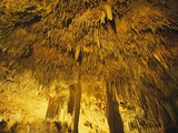 Stalactities on Ceiling of Damlatas Cavern Photographic Print by Murat Taner