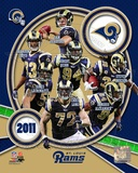 St. Louis Rams 2011 Team Composite Foto