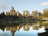 Siem Reap, Bayon Temple, Angkor Wat, Angkor, Cambodia Photographic Print by JoSon 