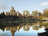 Siem Reap, Bayon Temple, Angkor Wat, Angkor, Cambodia Photographic Print by  JoSon