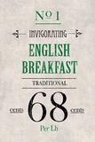 English Breakfast Tea Kunstdruck von  The Vintage Collection