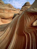 Rock formation in the Paria Canyon, Utah Photographic Print by Roland Gerth