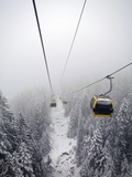 Cable car, Austria Photographic Print by Howard Kingsnorth