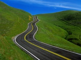 Highway Winding Through Countryside Photographic Print by Charles O'Rear