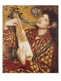 En julsaga Gicléetryck av Dante Gabriel Rossetti