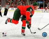 Dany Heatley 2011-12 Action Photo