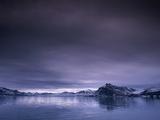 Arctic fjord, St. Jonsfjorden, Spitzbergen, Norway Photographic Print by Frank Krahmer