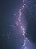 Lightning Bolt Photographic Print by Jim Zuckerman