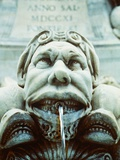 Italy/Rome: figure of Trevi Fountain Photographic Print by Christine Schneider