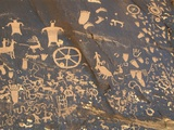 Petroglyphs at Newspaper Rock Photographic Print by Frank Lukasseck