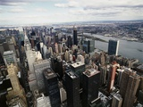 Midtown Manhattan Fotografie-Druck von David Jay Zimmerman