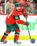 Cal Clutterbuck 2011-12 Action Photo