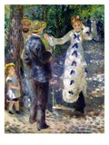 The Swing Giclee Print by Pierre Auguste Renoir