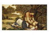 Procris and Cephalus Giclee Print by John Roddam Spencer Stanhope